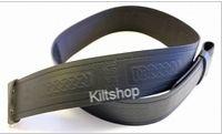 Embossed Leather Kilt Belt