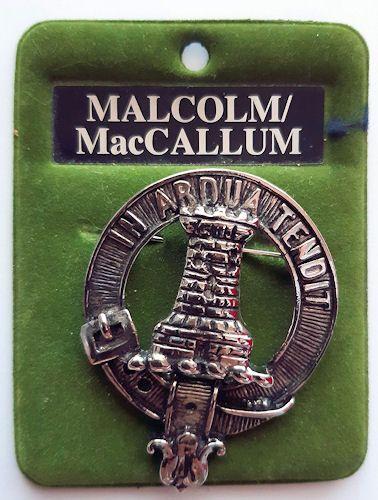 Malcolm - MacCallum Cap Badge