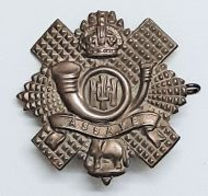 Assaye Cap Badge ( 5 x 5 cm)