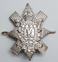 The Royal Highlanders Black Watch cap badge