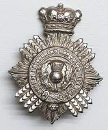 VICTORIAN Duke Of Edinburgh's Own Volunteer Rifles Cap Badge