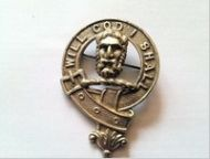 Menzies clan badge , 1940s - 1950s. Clan badge