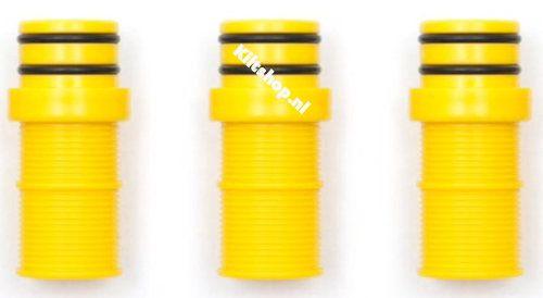 Yellow Drone Valves