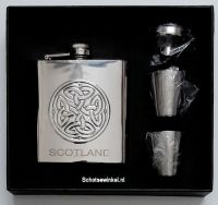 Celtic Hip Flask Box Set