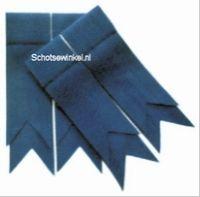 Blue Ancient Plain Coloured Garter, Flashes
