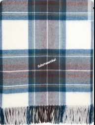 Plaid, Stewart Blue Dress Tartan Lambswool