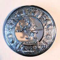 Plaid Broach, Lion, 8 cm