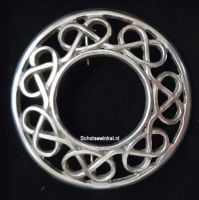 Broach, Knot, 6 cm
