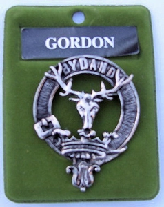 Gordon Cap Badge
