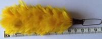 Gele veren voor glencarry