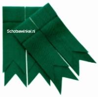 Green Ancient Plain Coloured Garter