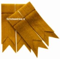 Gold Plain Plain Coloured Garter