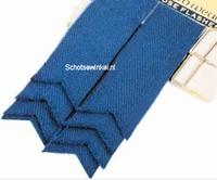 Basic Plain Colour Wool Ancient Blue Flashes