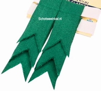 Basic Plain Colour Wool Green Ancient Flashes