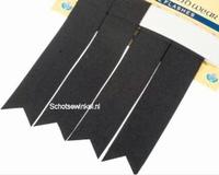 Basic Plain Colour Black Flashes
