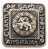 Button, Ancient Brass  (per stuk)