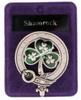 Clan Badge Shamrock